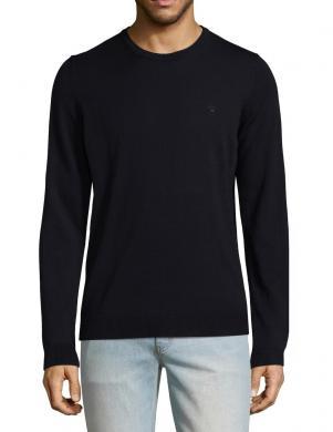 DIESEL melns vīriešu džemperis MANIKYNEW
