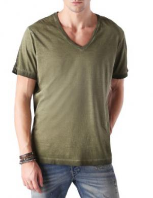 DIESEL zaļš vīriešu krekls THAVAR
