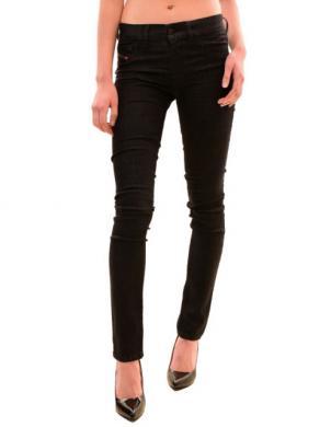 DIESEL melnas krāsas džinsa sieviešu bikses LIVIER