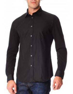 DIESEL melni vīriešu krekls