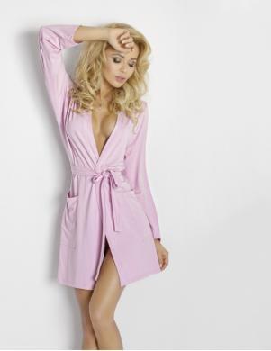DKAREN rozā sieviešu halāts Ines