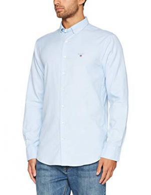 Zils vīriešu krekls ar vilnu GANT