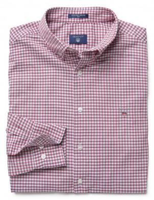 Rūtains sarkans vīriešu krekls GANT
