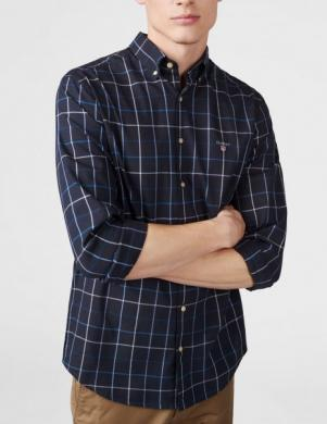 Rūtains vīriešu krekls GANT