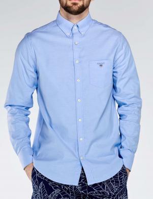 Zils vīriešu krekls GANT