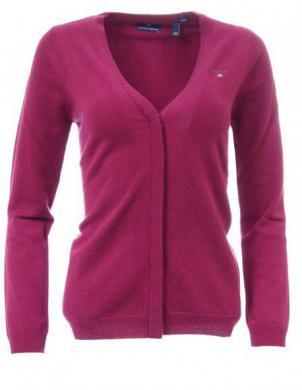 Rozā vilnas sieviešu džemperis GANT