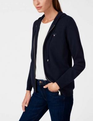 Tumši zils sieviešu džemperis GANT