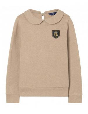 Sieviešu smilšu krāsas džemperis GANT
