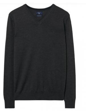Pelēks vīriešu vilnas džemperis GANT