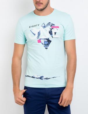 GUESS vīriešu gaiši zils krekls