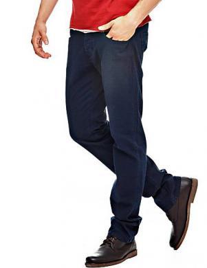 GUESS vīriešu tumši zilas krāsas bikses