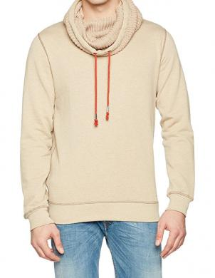 GUESS vīriešu krēmīgas krāsas džemperis
