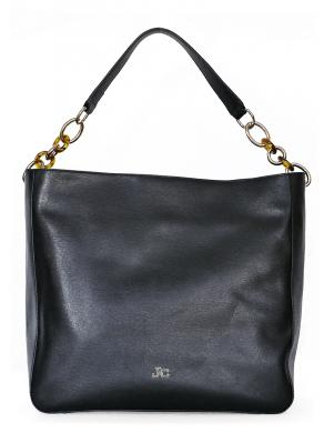 J&C Melna ādas soma