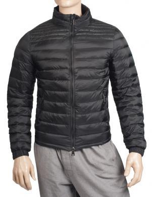 LUKAP melnas krāsas dūnu vīriešu jaka