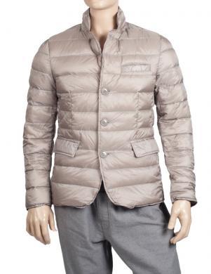 LUKAP pelēkas krāsas dūnu vīriešu jaka