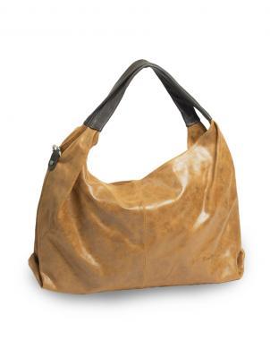PIERRE CARDIN brūna ādas sieviešu soma