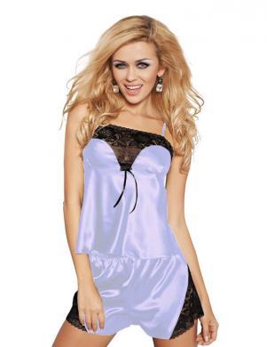 DKAREN gaiši zila sieviešu pidžama Calypso