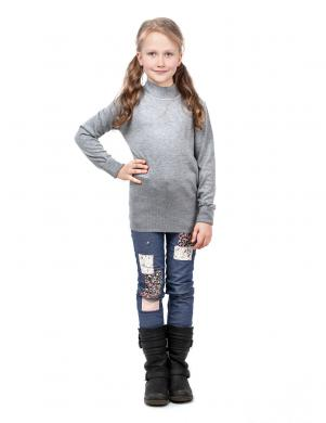 GAIALUNA pelēkas krāsas džemperis