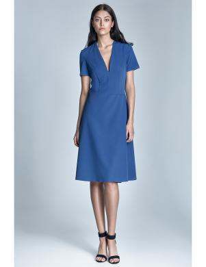 NIFE zilas krāsas sieviešu kleita