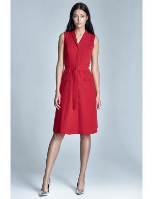 NIFE sarkanas krāsas sieviešu kleita