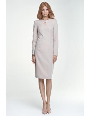 NIFE krēmīgas krāsas sieviešu kleita