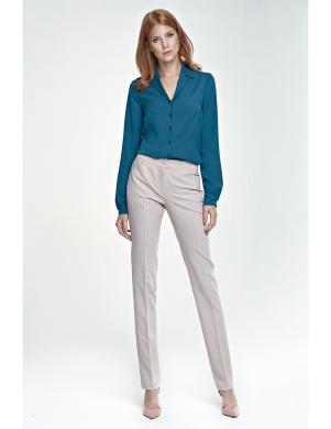 NIFE krēmīgas krāsas sieviešu bikses