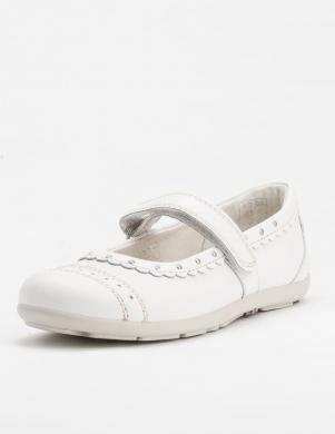 LURCHI BY SALAMANDER bērnu balti balerīnas apavi