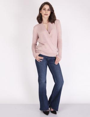 MKM rozā krāsas stilīgs sieviešu džemperis