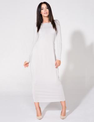 TESSITA gara gaiši pelēkas krāsas kleita