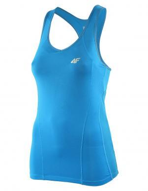 4F zils sieviešu fitnesa krekls
