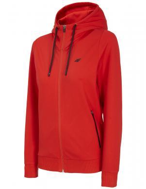 Sieviešu sarkans džemperis ar kapuci BLD005 4F