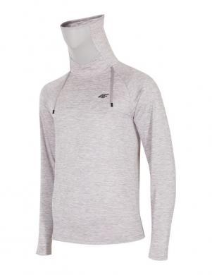 Pelēks vīriešu termo krekls ar augstu apkakli BIMD001G 4F