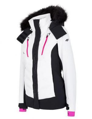 Balta sieviešu slēpošanas jaka KUDN010 4F