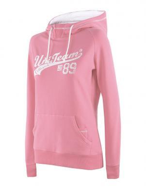 4F koraļļu krāsas sieviešu sporta krekls