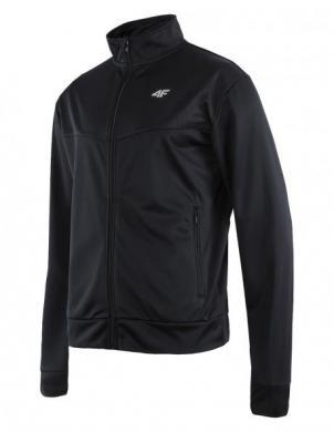 4F melns vīriešu sporta krekls