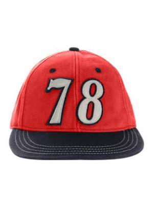 DIESEL sarkana cepure CIANNAK CAPPELLO