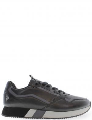 U.S.POLO vīriešu melni ikdienas apavi
