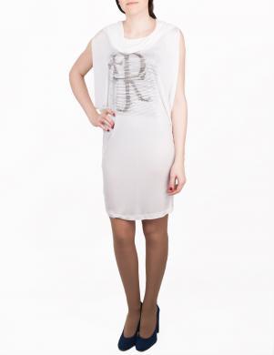JOHN RICHMOND stilīga baltas krāsas sieviešu kleita-tunika
