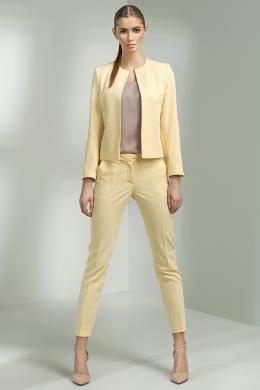 NIFE dzeltenas sieviešu bikses