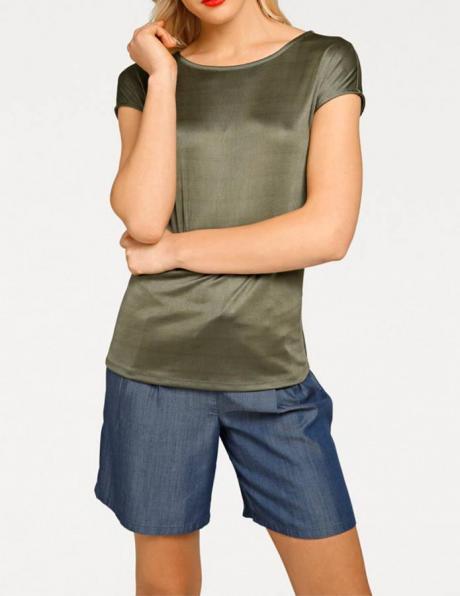 Zaļas krāsas sieviešu krekls RICK CARDONA