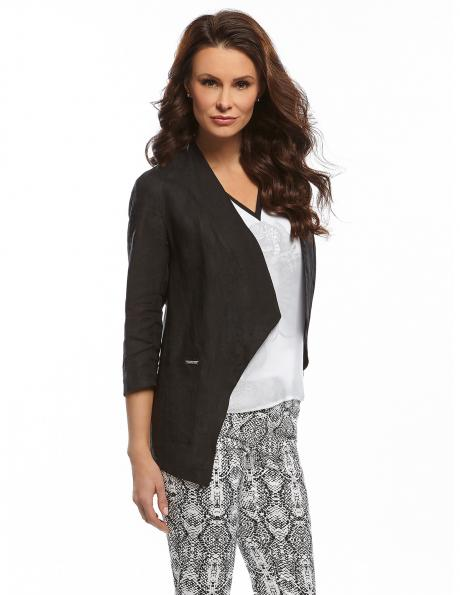 ENNY melnas krāsas sieviešu jaka