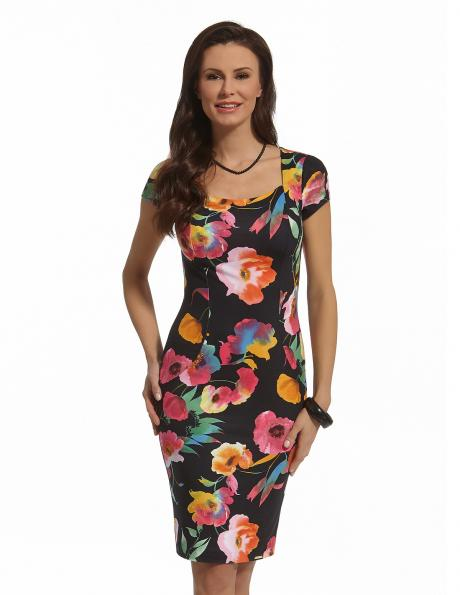ENNY puķaina eleganta kleita