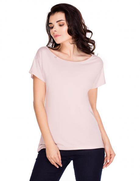 VIOLANA sieviešu rozā krāsas blūze