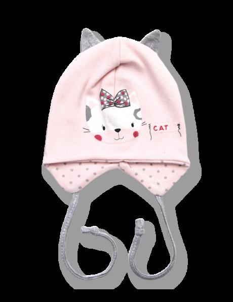 LAFEL bērnu kokvilnas cepure CAT