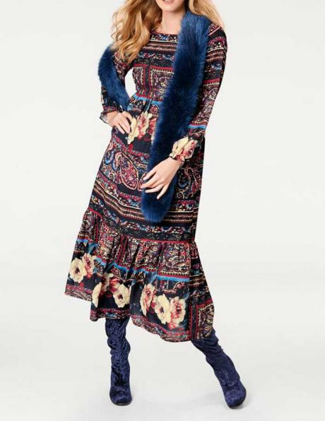 Krāsaina gara kleita RICK CARDONA