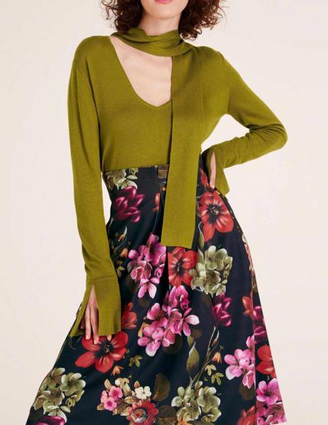 Zaļš sieviešu džemperis HEINE