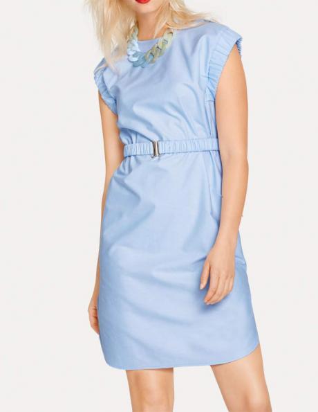 Ikdienas gaiši zila kleita RICK CARDONA