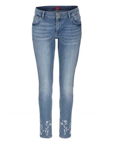 S. OLIVER zili sieviešu džinsi