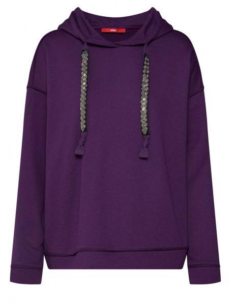 S. OLIVER violets sieviešu džemperis