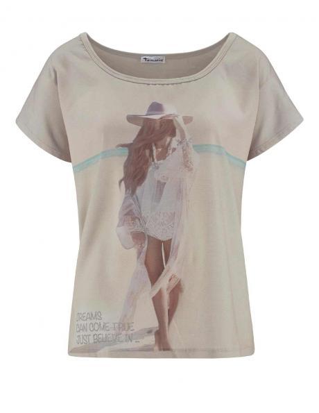 TAMARIS smilšu krāsas sieviešu krekls